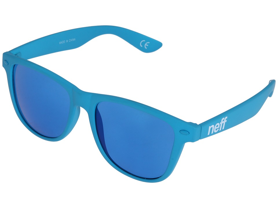 Neff - Daily Shades (Blue Rubber) Sport Sunglasses