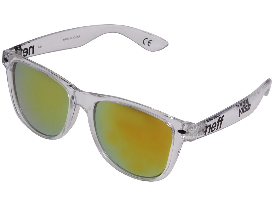 Neff - Daily Shades (Clear) Sport Sunglasses