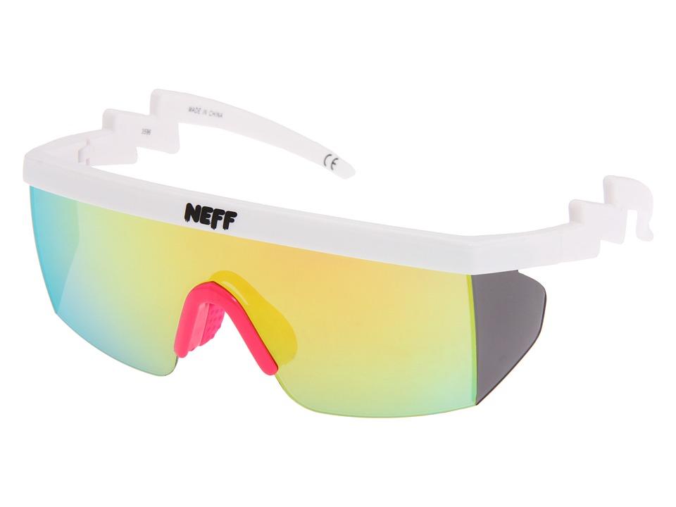 Neff - Brodie Shades (White) Sport Sunglasses