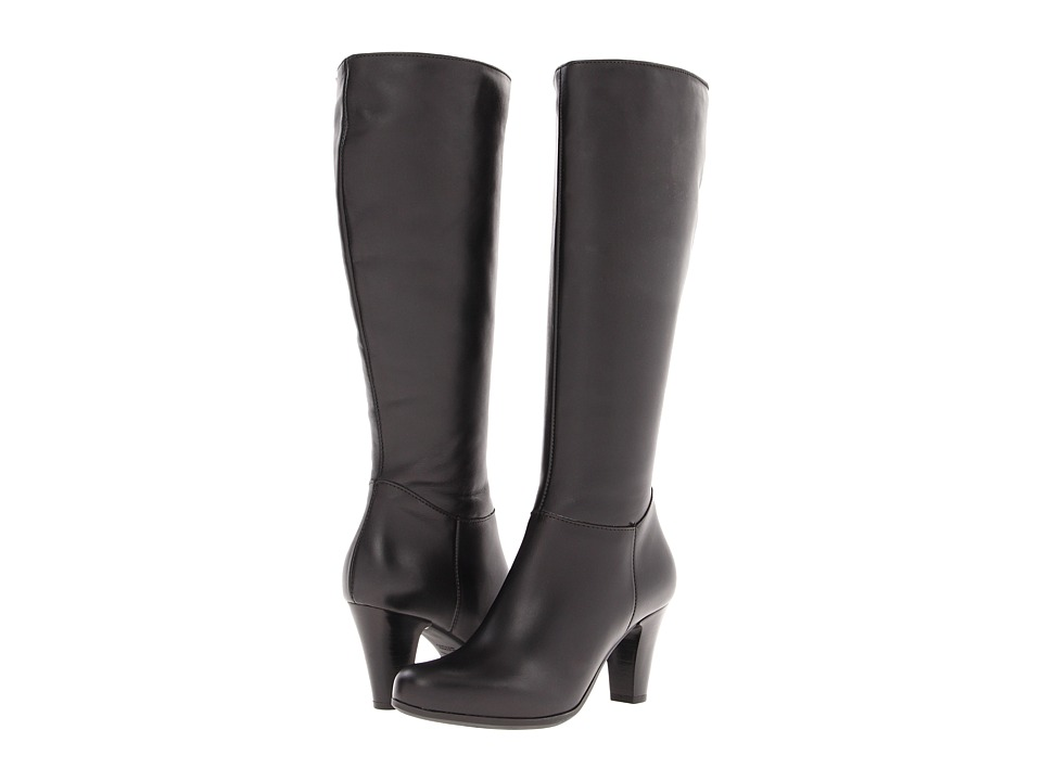 La Canadienne - Dawson (Black Leather) Women's Dress Boots