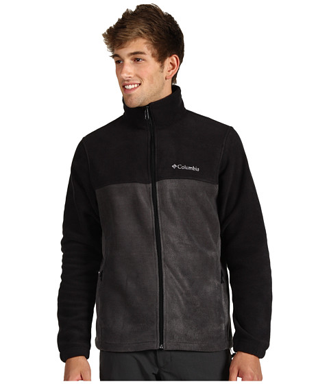 Columbia - Steens Mountain Full Zip 2.0 (Black/Grill 2) Men's Coat