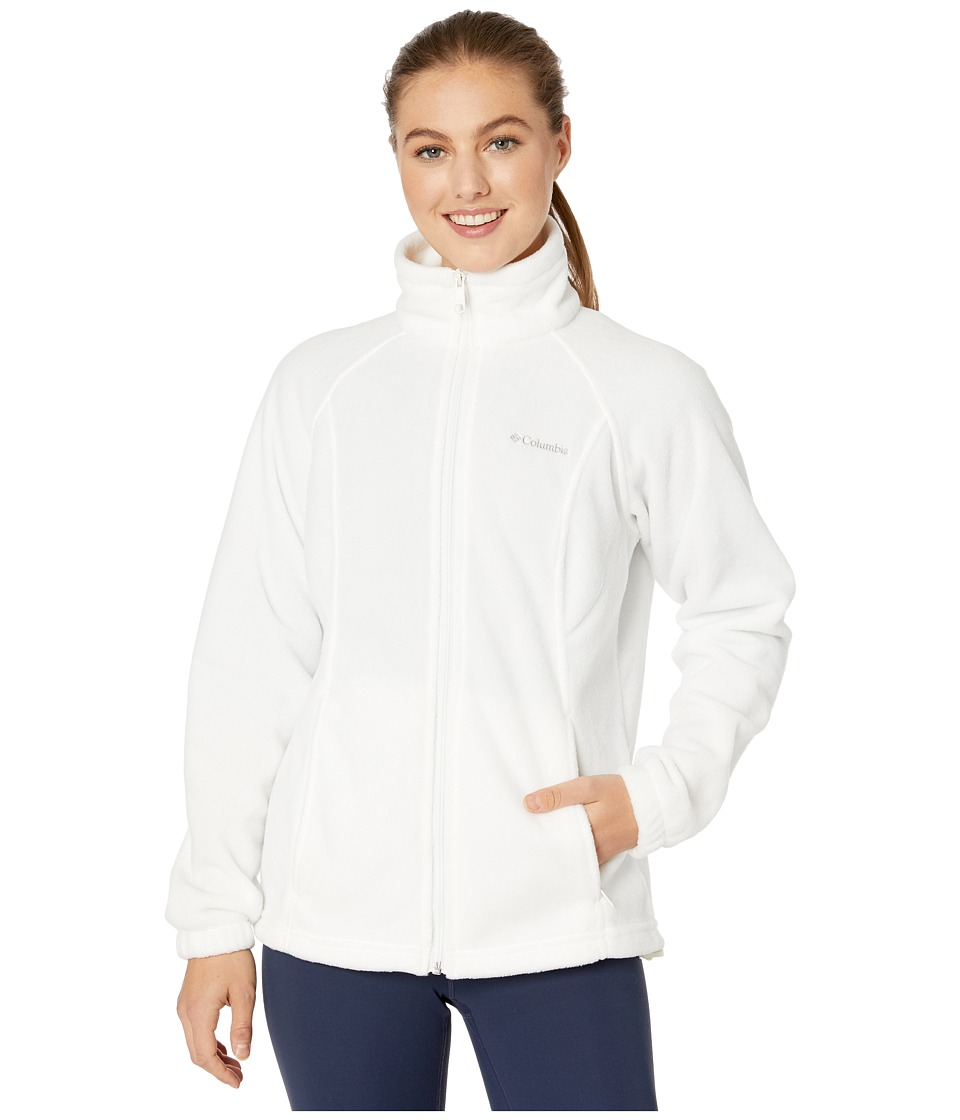 Columbia - Benton Springs Full Zip (Sea Salt) Women's Jacket