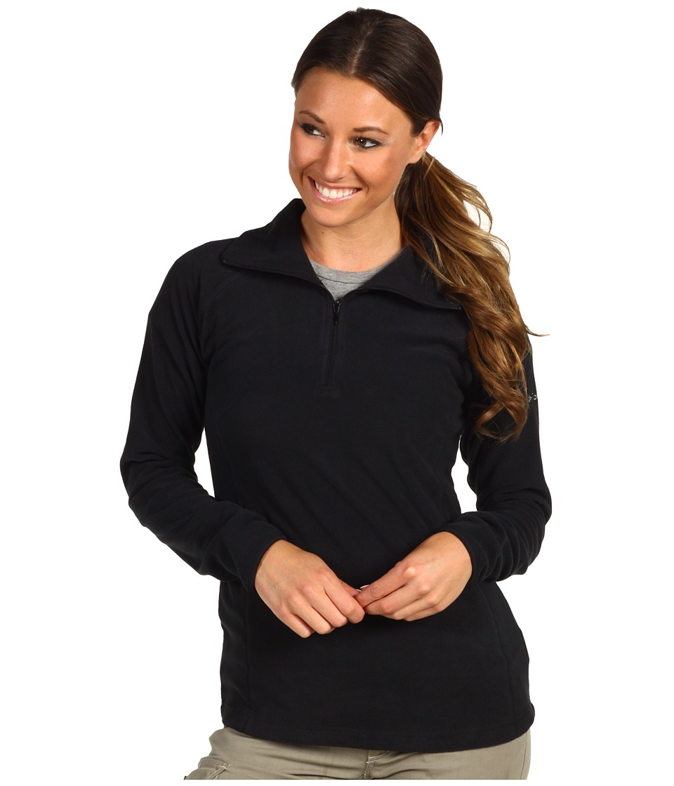 Columbia - Glacial Fleece III 1/2 Zip (Black) Women's Coat