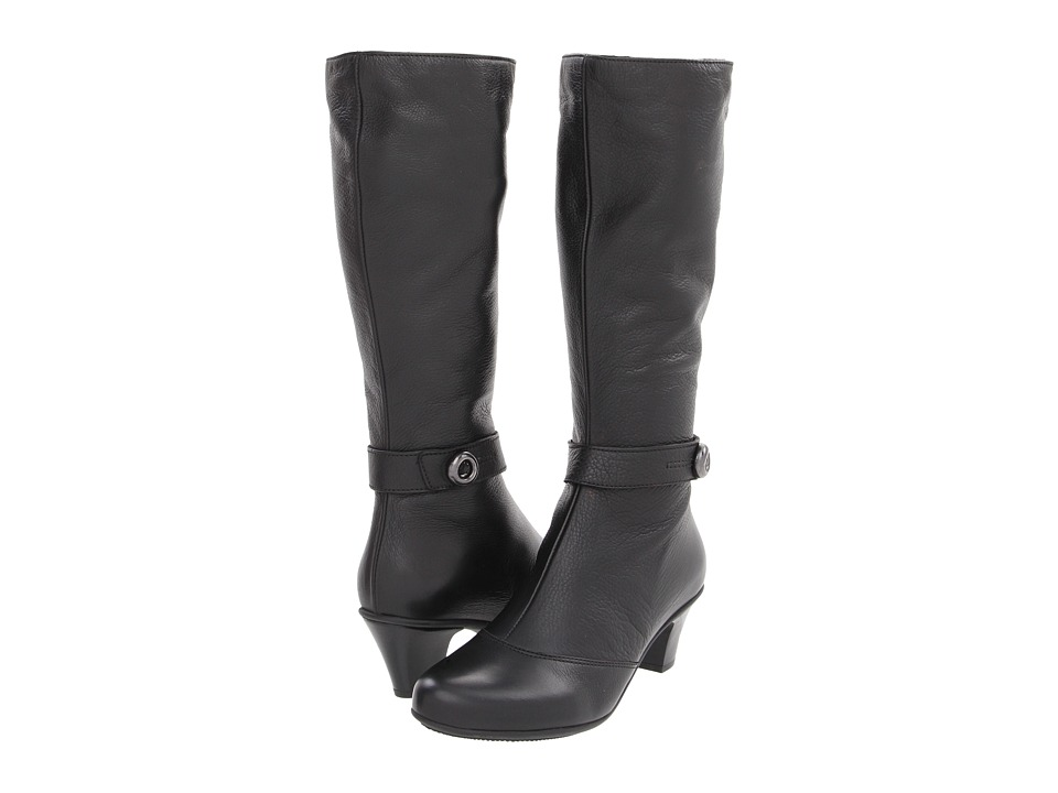 La Canadienne - Richie (Black Neptune Leather) Women