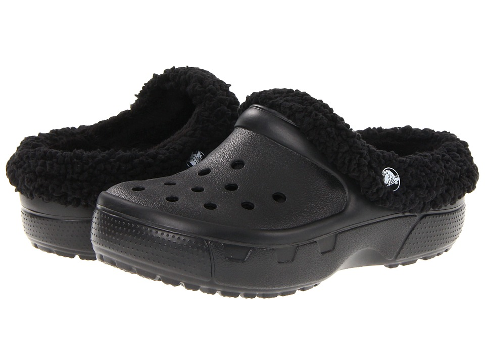 Crocs Kids - Mammoth EVO Clog (Toddler/Little Kid) (Black/Black) Kids Shoes