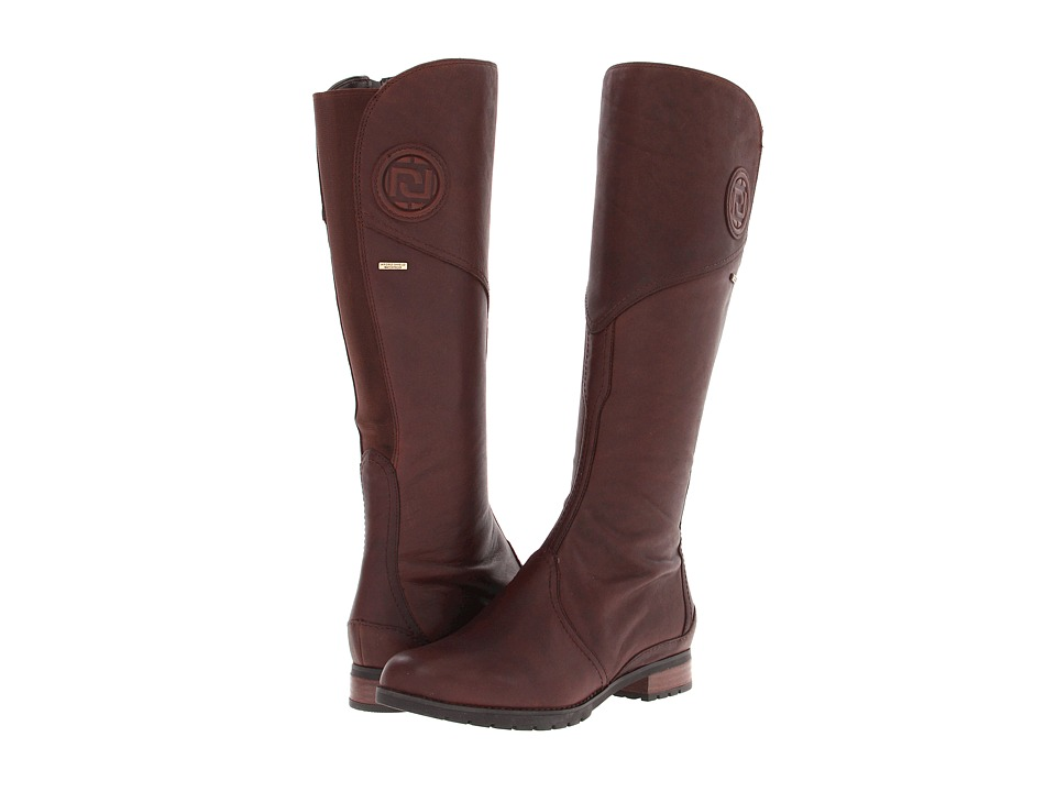 Rockport - Tristina Gore Tall Boot (Brownie) Women's Zip Boots