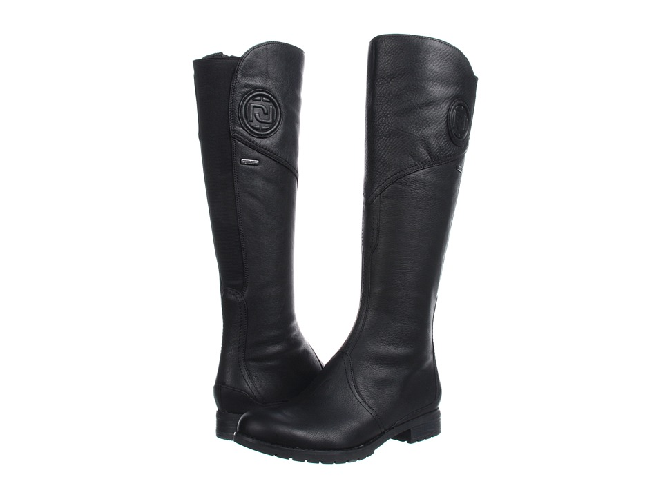 Rockport - Tristina Gore Tall Boot (Black) Women's Zip Boots