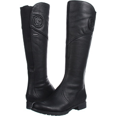 Rockport Tristina Gore Tall Boot (Black) Footwear