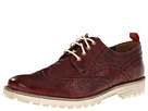 Hush Puppies - 1958 - Brogue Lug (Red Leather) - Footwear