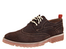 Hush Puppies - 1958 - Brogue Lug (Dark Brown Suede) - Footwear