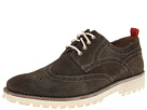 Hush Puppies - 1958 - Brogue Lug (Charcoal Suede) - Footwear