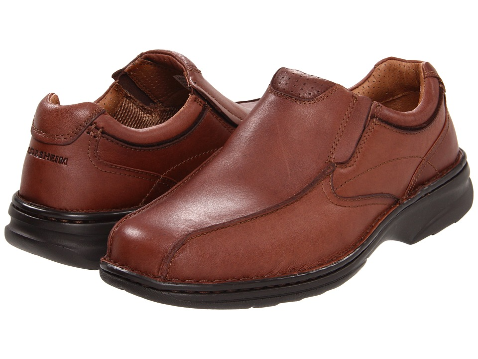 Florsheim - Getaway Bike Slip (Brown Milled Leather) Men