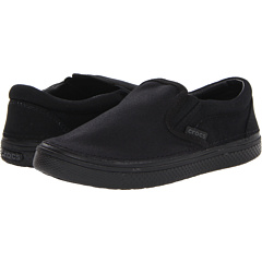 SALE! $16 - Save $24 on Crocs Kids Hover Sneak Slip On (Toddler Little Kid Big Kid) (Black) Footwear - 60.00% OFF $40.00