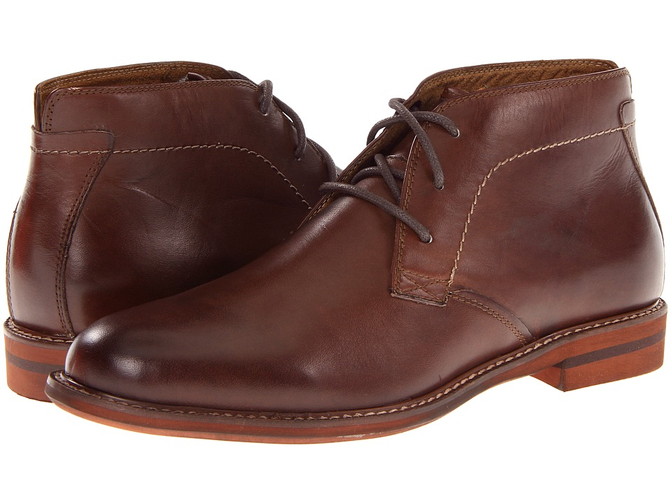 Florsheim - Doon Chukka Boot (Brown Smooth Leather) Men's Lace-up Boots