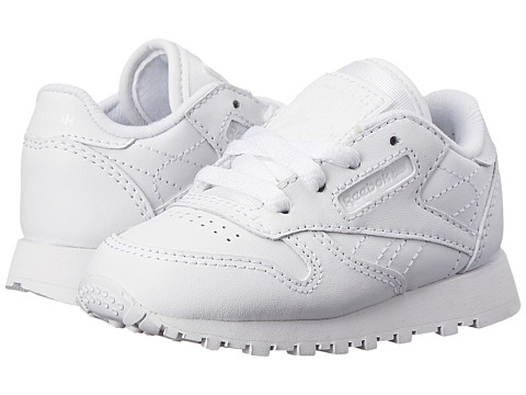 2184574b381f ... UPC 886051429966 product image for Reebok Kids Classic Leather  (Infant Toddler) (White