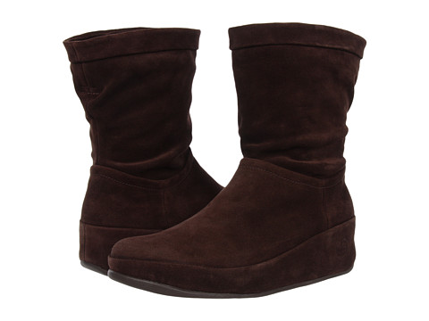 FitFlop - Crush Boot (Chocolate) Women's Pull-on Boots