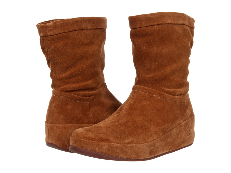 FitFlop - Crush Boot (Brown Sugar) Women