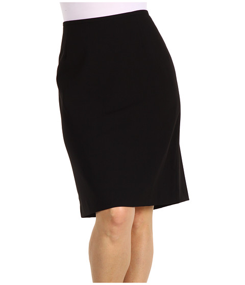 Calvin Klein - Plus Size Pencil Skirt (Black) Women's Skirt