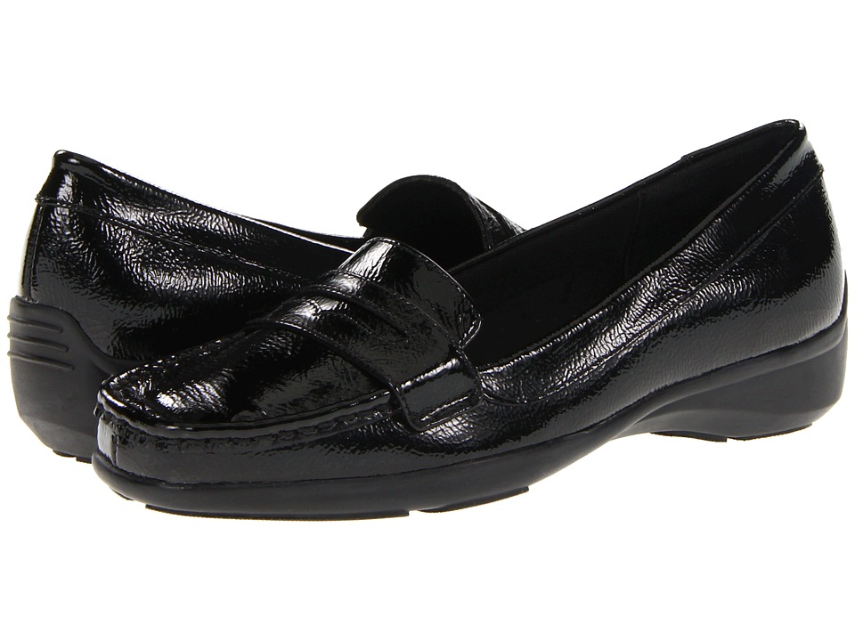 Trotters - Zell (Black Leather) Women