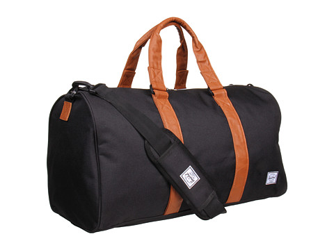 Herschel Supply Co. - Ravine (Black/Tan FA 12) Duffel Bags