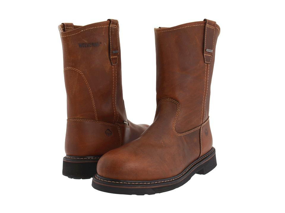 Wolverine - Brek Durashocks(r) Waterproof (Dark Brown) Men's Boots