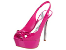Paris Hilton - Linda (Hot Pink Patent) - Footwear