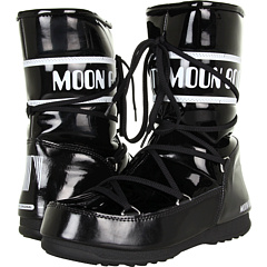 Tecnica Moon Boot Puddle Jumper (Black White) Footwear
