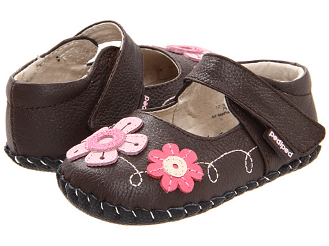 pediped - Sadie Original (Infant) (Brown) Girls Shoes