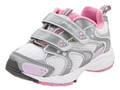 pediped Aphrodite Flex (Toddler/Little Kid) (XSilver/Pink)