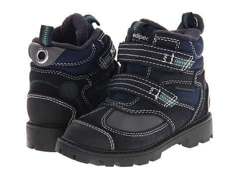 pediped - Spencer Flex (Toddler/Little Kid) (Navy) Boys Shoes