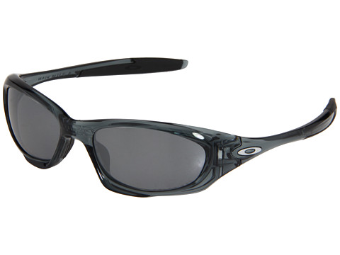 Oakley - Twenty Polarized (Crystal Black/Black Iridium Polarized) Sport Sunglasses