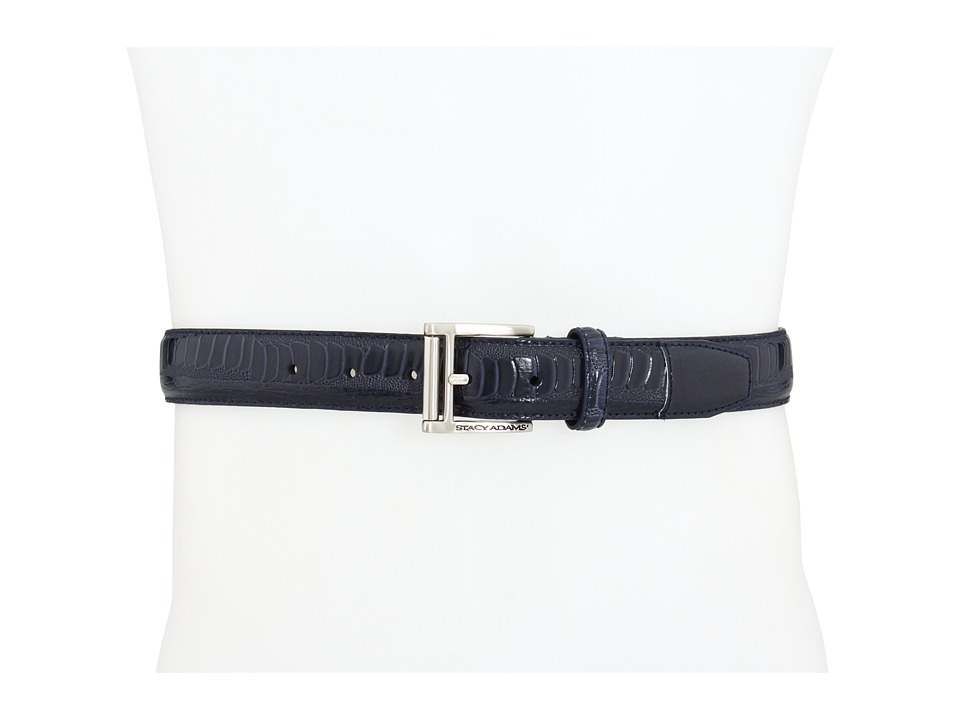 Stacy Adams - 124 (Navy) Men's Belts