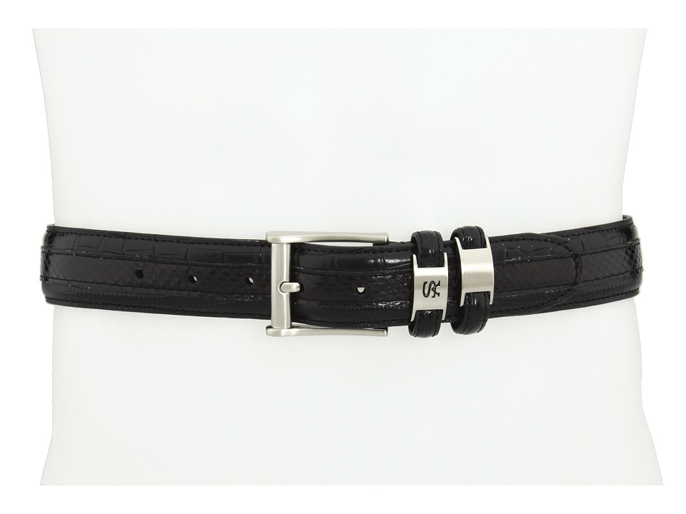 Stacy Adams - 127 (Black) Men's Belts