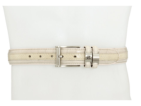 Stacy Adams - 127 (Cream) Men's Belts
