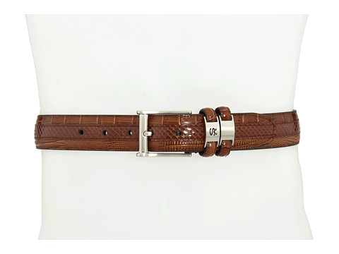 Stacy Adams - 127 (Brown) Men's Belts