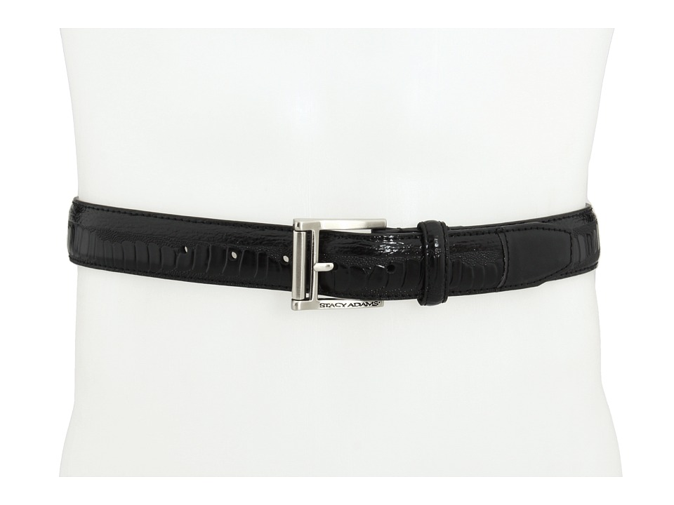 Stacy Adams - 124X (Black) Men's Belts