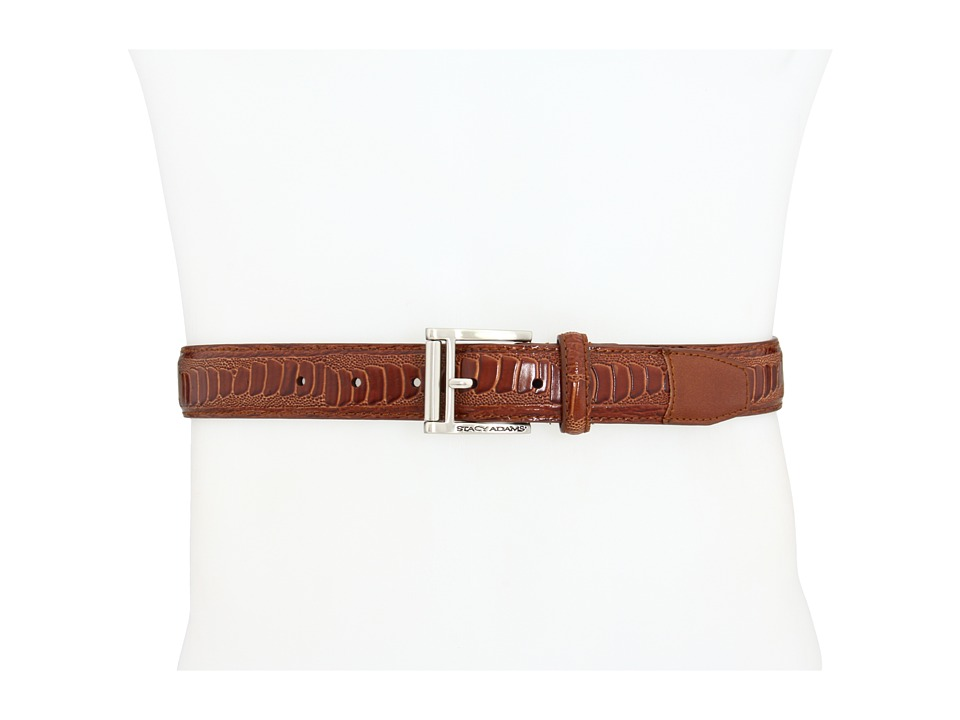 Stacy Adams - 124X (Cognac) Men's Belts