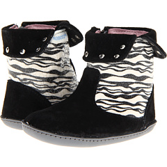SALE! $16.99 - Save $17 on Robeez Lil Rock Star Mini Shoez (Infant Toddler) (Black Zebra) Footwear - 50.03% OFF $34.00