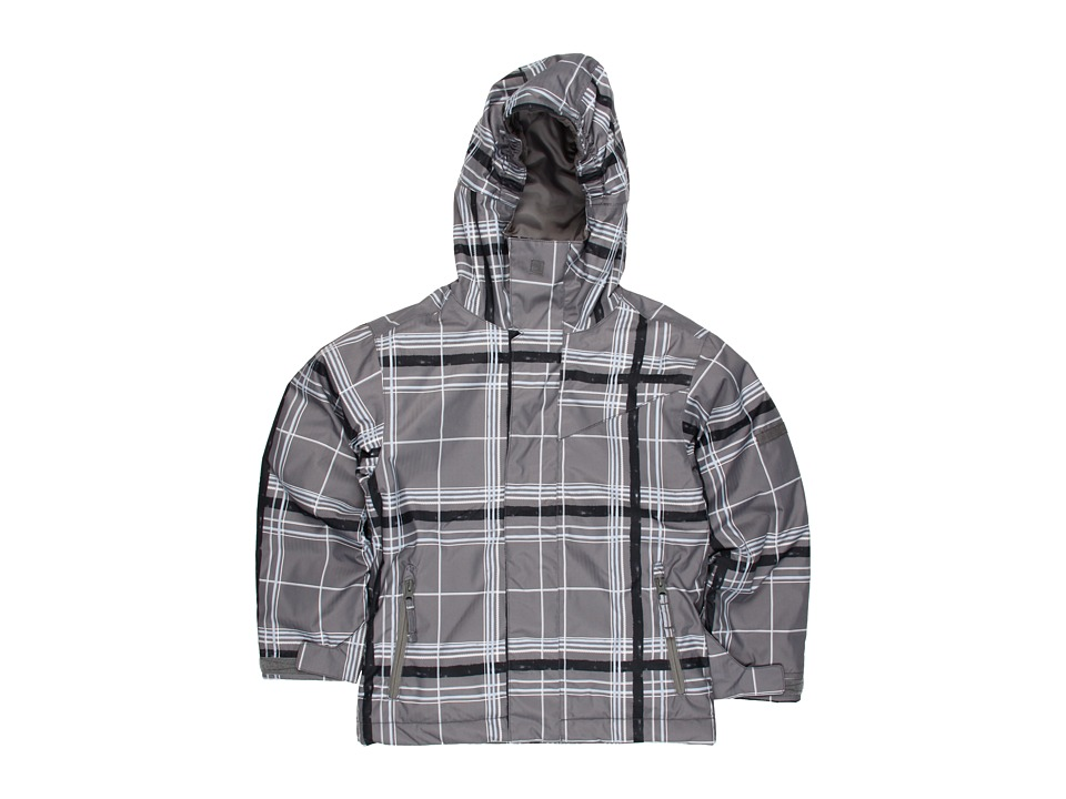 Quiksilver Kids Grid Jacket Boys Coat (Gray)