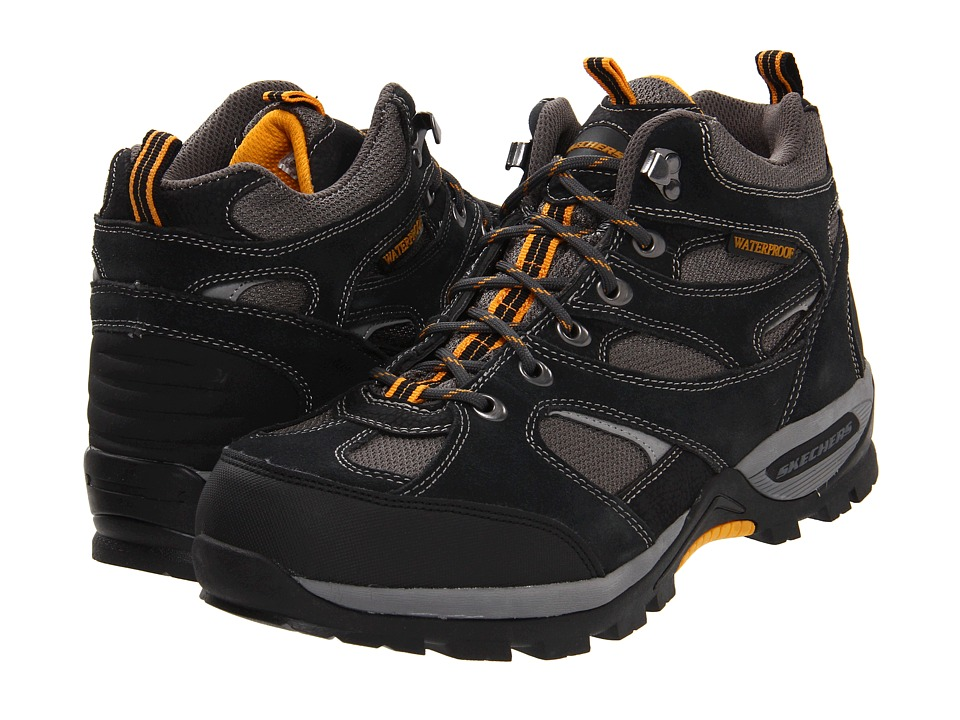 SKECHERS - Bomage - Calder (Black) Men's Shoes
