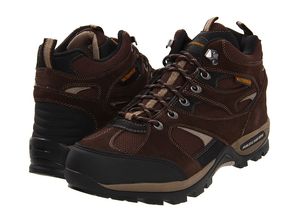 SKECHERS - Bomage - Calder (Brown) Men's Shoes