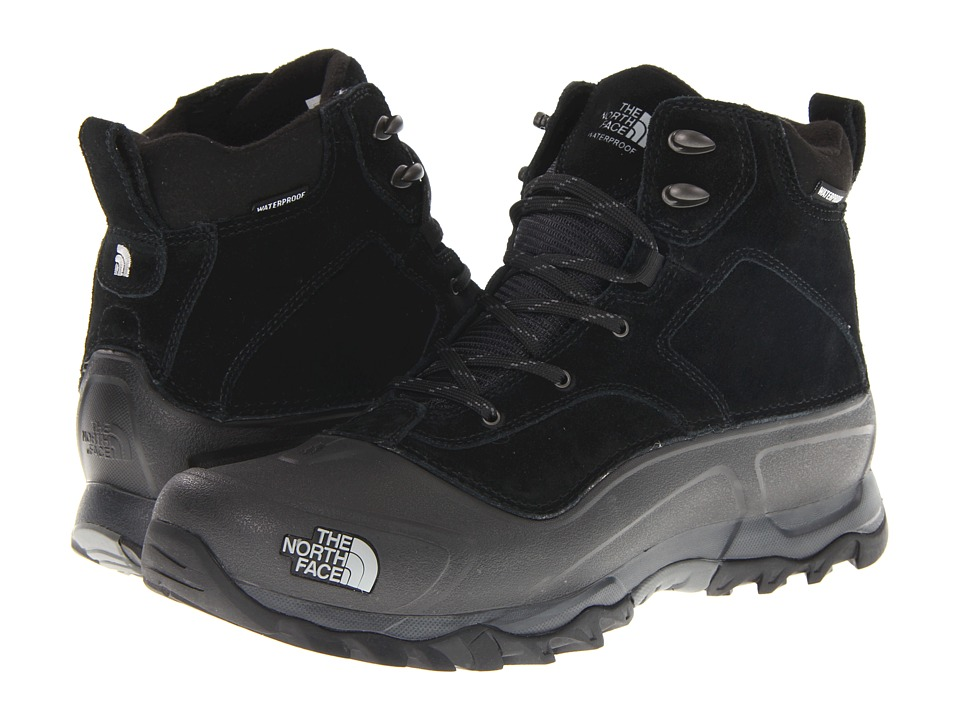 The North Face - Snowfuse (Black/Black) Men's Cold Weather Boots