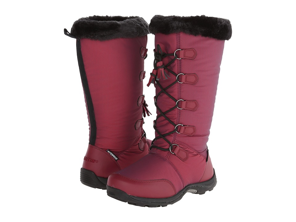 Baffin - New York (Dark Red) Women's Cold Weather Boots