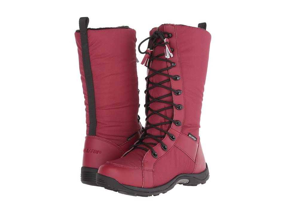 Baffin - Chicago (Dark Red) Women's Lace-up Boots