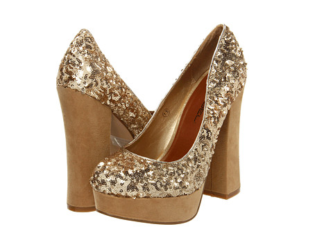 C Label - Artie (Gold) High Heels