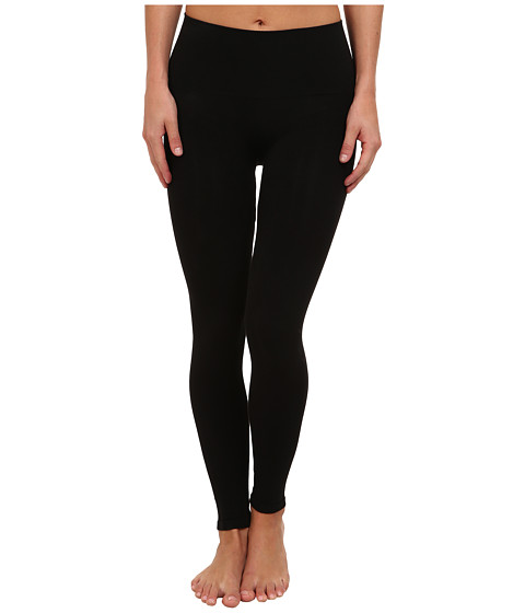 Spanx - Look-at-Me Cotton Leggings (Black) Hose