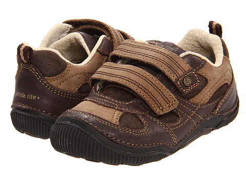 Stride Rite - SRT Woody (Toddler) (Espresso) Boys Shoes