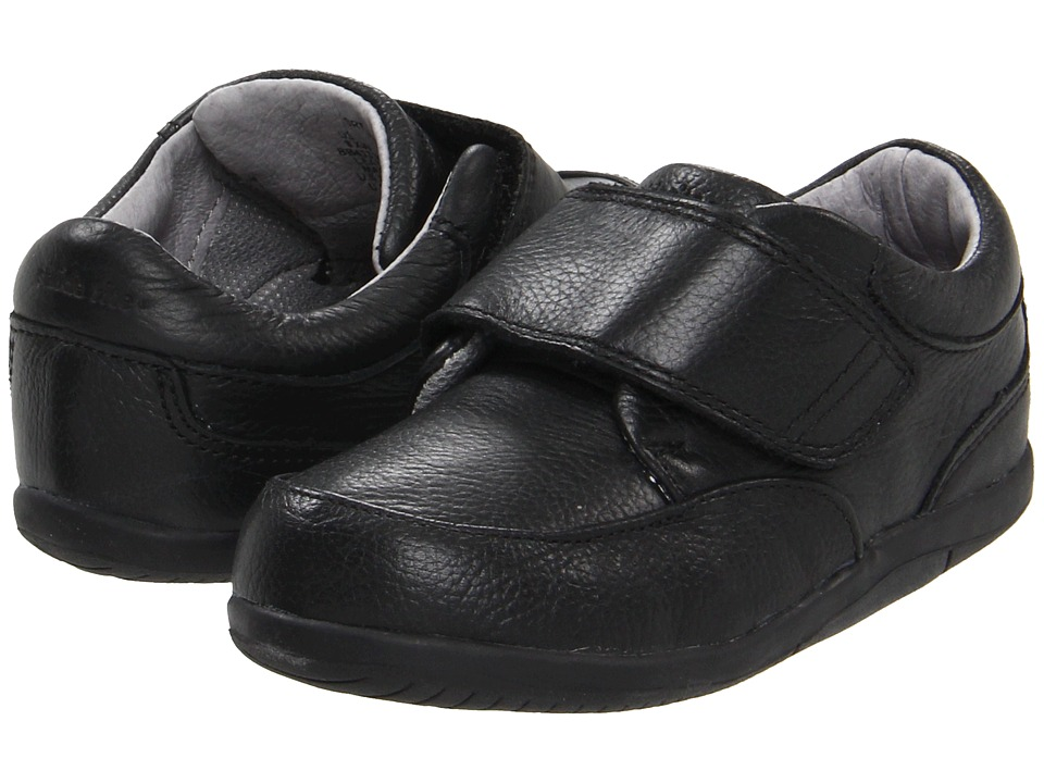 Stride Rite - SRT Ross (Toddler) (Black) Boys Shoes