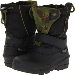SALE! $16.99 - Save $31 on Tundra Boots Kids Quebec (Toddler) (Black Green Camo) Footwear - 64.23% OFF $47.50