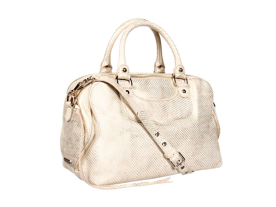 Rebecca Minkoff - Jealous (Gold) Satchel Handbags